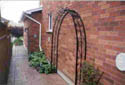 Custom Ornamental Metal Arbour