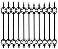 Cast Iron Fence: Citadel model