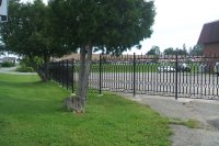 Ornamental Cast Iron Fence